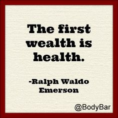 Wealth is #Health #motivation #fitness