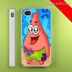 PATRICK STAR - iPhone 5 case, iPhone 4