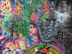 Efectos del Ayahuasca. Los efectos empiezan entre 20 y 60 minutos después de la ingestión, los efectos duran de 2 a 6 horas, Introspección examen del alma por sí mismo, regresión, reviviscencia psíquica a fases pasadas de la vida, para solucionar conflictos, experiencia místico religiosa, ascensión al cielo, Viaje astral, Trasmigración o peregrinación del alma, fuera del cuerpo físico.