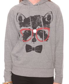 """Nerdy Raccoon Pullover"" from Forever 21."
