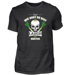 Egal wie hart du bist ein Lauch ist härt T-Shirt Basic Shirts, Long Sleeve, Sleeves, Mens Tops, Fashion, Don't Care, Moda, Long Dress Patterns, Fashion Styles