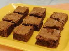 Elsa's Brownies : Skip the boxed stuff and opt for these from-scratch beauties featuring a moist, fudgy center.