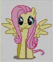 Fluttershy Pattern by ~Jackiekie on deviantART