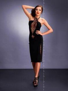 MAXIMA BLACK sukienka