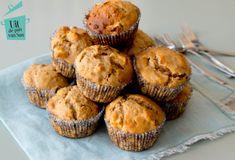 Appel yoghurt havermout muffins - Uit de pan van San