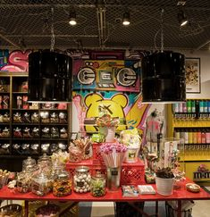 Candy Rox Store. Great display ideas