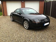 """2003 """"03"""" AUDI TT QUATTRO (180 BHP) BLACK 