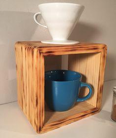 Verter sobre el soporte de café