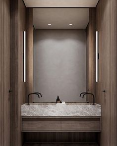 """In Search of Lights on Instagram: """"👌👌 . Credits to @leqb.architects"""" Bathroom Lighting, Modern Bathroom Accessories, Residential Lighting, Mirror, Architects, Lights, Furniture, Search, Home Decor"""