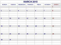 excel calendar template 2015 Best Collection of March 2015 Calendar Landscape. 2015 Calendar Printable, Excel Calendar Template, Printable Blank Calendar, Print Calendar, Calendar Pages, Calendar Design 2017, January 2015 Calendar, Holidays, Landscape