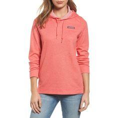 Women's Vineyard Vines Shep Hoodie ($118) ❤ liked on Polyvore featuring tops, hoodies, patriot red, vineyard vines pullover, red hooded sweatshirt, striped hoodie, hooded sweatshirt and hooded pullover sweatshirt