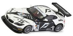 NSR NSR0011AW BMW Z4 black/white #76 FIA GT3 European Championship 2010