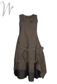 Rundholz Pinafore dress rh2107