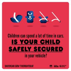 Child Passenger Safety Week is September 13-19. Visit SaferCar.gov/therightseat for more information.