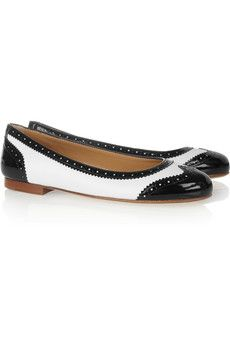 Church's - Anna two-tone leather ballet flats