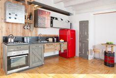 Cucina Loft 2.0  #cucine industriali