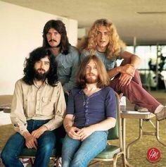 Led Zeppelin in Japan in 1970