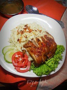 NASI AYAM MADU | Fiza's Cooking