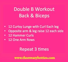 DOUBLE B WORKOUT!!