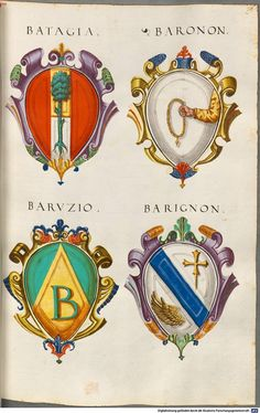 Coats of Arms. Family Shield, Medieval Paintings, Ornaments Design, Family Crest, Medieval Art, Crests, Coat Of Arms, Patriots, Flag