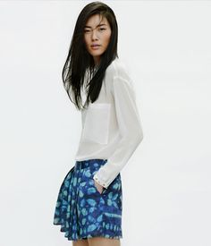 Liu Wen for Zara April 2012 Lookbook | Fashion Gone Rogue: The Latest in Editorials and Campaigns