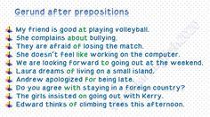 Forum   ________ Learn English   Fluent LandGerund after Prepositions   Fluent Land