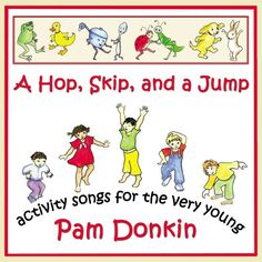 A Hop, Skip, and a Jump is an enhanced and includes a video and a parent teacher activity guide to the songs. Winner of four awards! Creative Child Seal of Excellence A Parents' Choice Approved Award