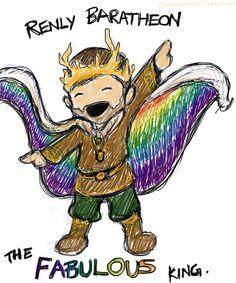 Renly Baratheon: The Fabulous King / #gameofthrones