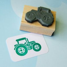 Hey, I found this really awesome Etsy listing at https://www.etsy.com/listing/161870361/tractor-stamp-little-tractorrubber-stamp