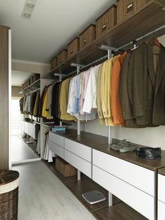 vestidor moderno de diseño funcional
