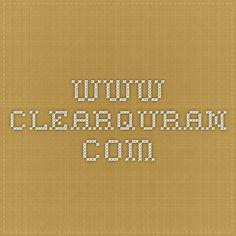 www.clearquran.com