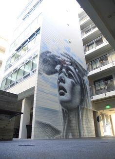 "MAC ART: ""Enduring Spell"" : New mural for the University of California, San Diego"