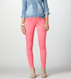 Sateen Jegging At AE.com