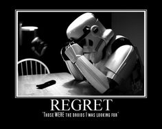 those were the droids that i was looking for