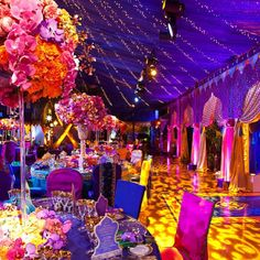 .@Taryn H McCormick   We were honored to design the florals for @soniasharmaevents in this gorgeous...   Webstagram
