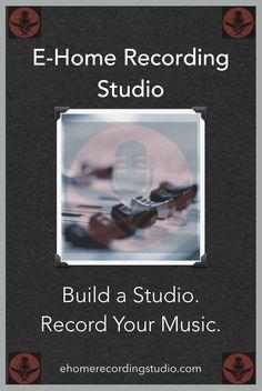 A FREE Course on Building Home Recording Studios http://ehomerecordingstudio.com