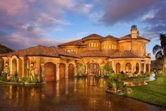 Mediterranean Tuscan Home