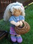 Anielka - waldorf doll 40 cm