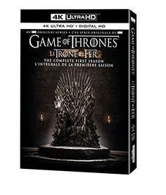Game of Thrones: Season 1 (4K Ultra HD) [Blu-ray] Warner ... https://www.amazon.ca/dp/B07BZ455YD/ref=cm_sw_r_pi_dp_U_x_H5ZbBbBH8Q4GW