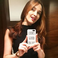Awesome Looks Good On Me mirrored phone case!  http://www.looksgoodonme.com/shop