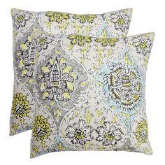 Kings Turban Cotton Throw Pillow