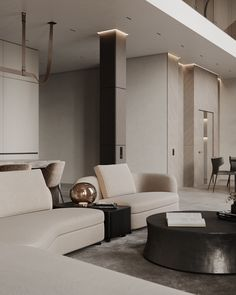 White Shelving Unit, Bedroom Workspace, Modern Interior, Interior Design, Black Side Table, Large Bedroom, Lounge Areas, Residential Architecture, Luxurious Bedrooms