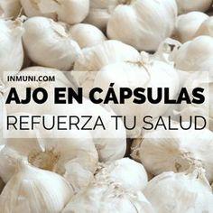 propiedades y beneficios de las cápsulas de ajo