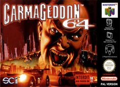Carmageddon 64 (N64) Playstation, Nintendo 64 Games, Original Nintendo, Classic Video Games, Game Guide, We Remember, Videogames, Consoles, Nerdy