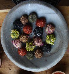 thehampsteadkitchen :: Labneh Balls - Dried Yogurt Balls