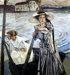 Impressioni Artistiche : ~ Leo Putz ~ German artist, 1869-1940