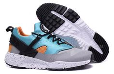 huge discount f38ed 40a01 2015 Newest Designed Nike Air Huarache Utility Run Shoes Sky Blue Black Gray Yellow  Mens Sneaker Online Shop, Price   99.00 - Air Jordan Shoes, ...