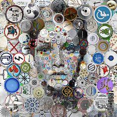 Circle Mosaics by Antonio Village9991, via Behance