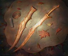 Mirkwood Long-knife, Alexandr Elichev on ArtStation at https://www.artstation.com/artwork/EOdq4