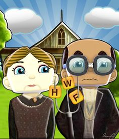 American Gothic Parody Minions Download
